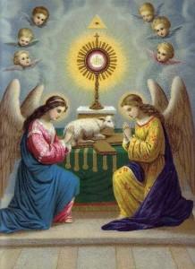Mẫu Giờ Chầu Thánh Thể Thứ Năm Tuần Thánh