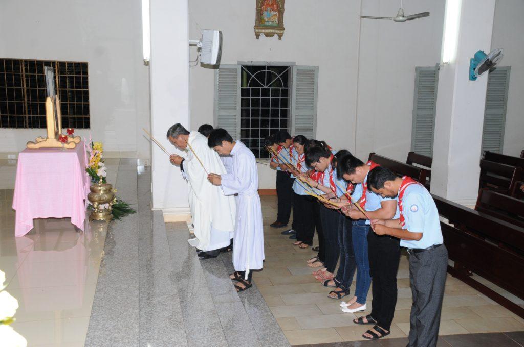 Giáo xứ Đất Đỏ mừng lễ Sinh nhật Thánh Gioan Tẩy Giả- Bổn Mạng Giáo lý viên giáo xứ