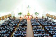 Đền Thánh Đức Mẹ Bãi Dâu:  Giáo Lý Viên Giáo Phận Bà Rịa mừng lễ Bổn mạng Anrê Phú Yên 2017