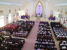 Thánh lễ an táng Bà cố Maria Trần Thị Lụa  (thân mẫu Thầy Phó tế Micae Huỳnh Văn Phú)