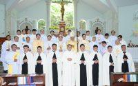 Thánh lễ Khấn Dòng của Thầy M.Tôma Aquinô Phạm Bá Lợi tại Đan viện Xitô Thánh Mẫu Thiên Phước