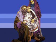 NGÀY 26/7: Thánh GIOAKIM và ANNA- Song thân của Đức Trinh Nữ Maria