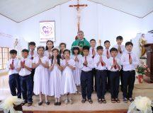 Giáo họ biệt lập Long Tân: Thánh lễ Rước Lễ lần đầu