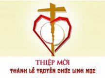 THIỆP MỜI  Lễ Truyền chức Linh mục Giáo phận Bà Rịa 2017