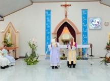 Giáo họ biệt lập Hòa Hưng: Đón chào Cha Tân phụ trách Antôn Nguyễn Văn Thuần