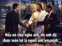RẤT CẦN TÌNH BÁC ÁI HUYNH ĐỆ- Suy niệm Chúa Nhật XXIII Thường niên A