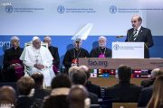 Đức Thánh Cha viếng thăm tổ chức Lương nông quốc tế (FAO)